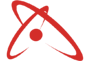 Collision centered logo